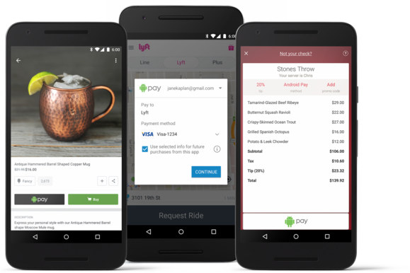 android pay in app purchases