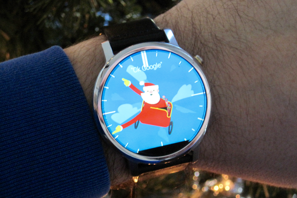 android wear santa