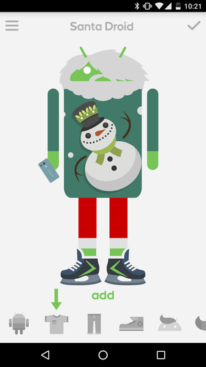 androidify santa