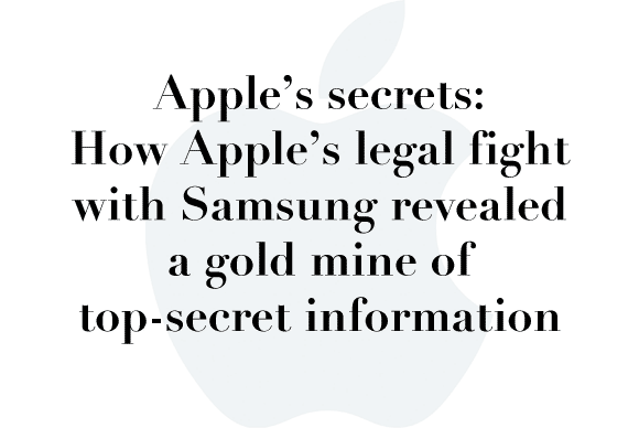 apple samsung secrets