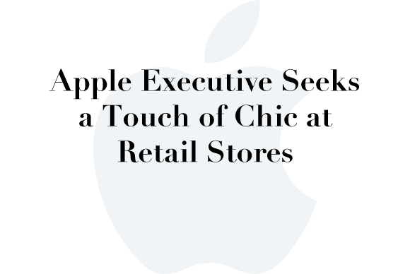apple stores chic