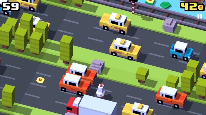 best free games 2015 crossyroad