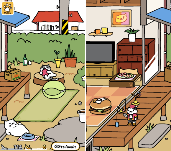 best free ios games 2015 nekoatsume