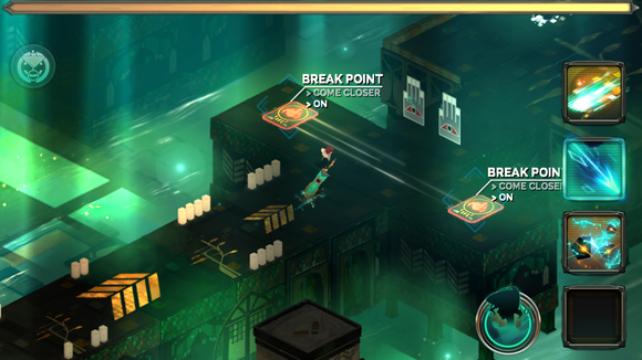 best ios games 2015 transistor