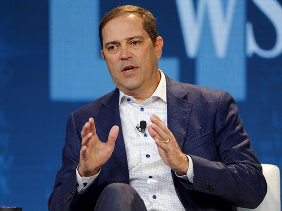 Cisco CEO Chuck Robbins World Economic Forum Davos