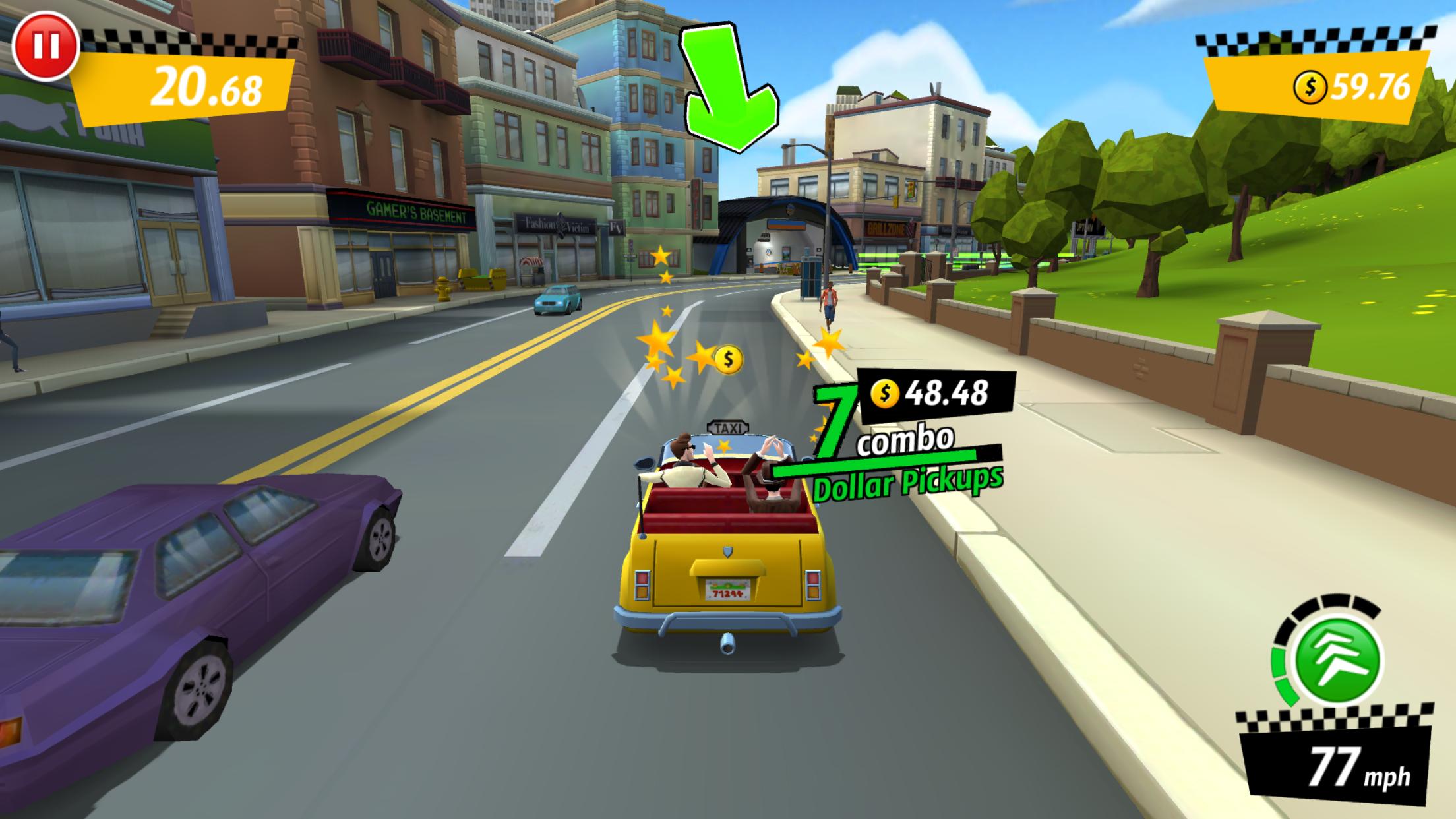 crazy taxi online