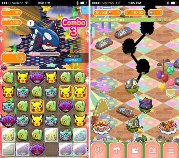 classics f2p pokemonshuffle