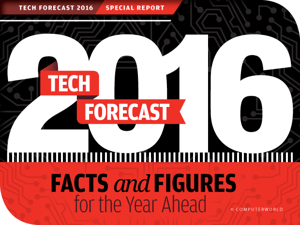 Computerworld Tech Forecast 2016 [slideshow cover]