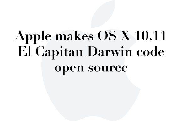 el capitan open source
