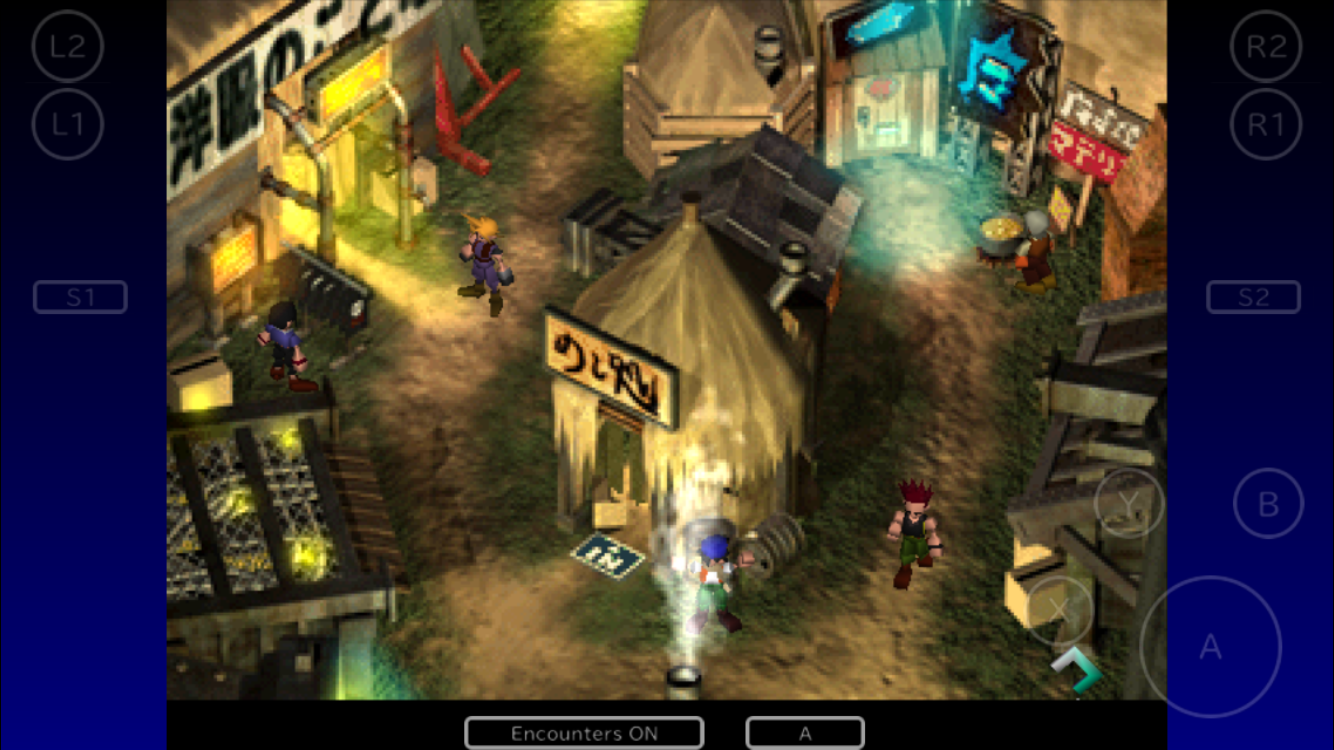 how to play final fantasy 7 on mac
