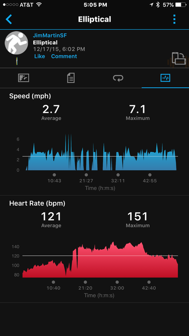 garmin vivosmart hr ios