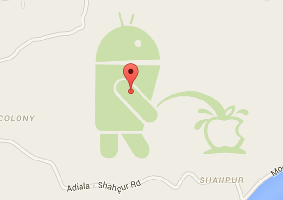 google maps apple