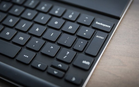 google pixel c keys close up edge