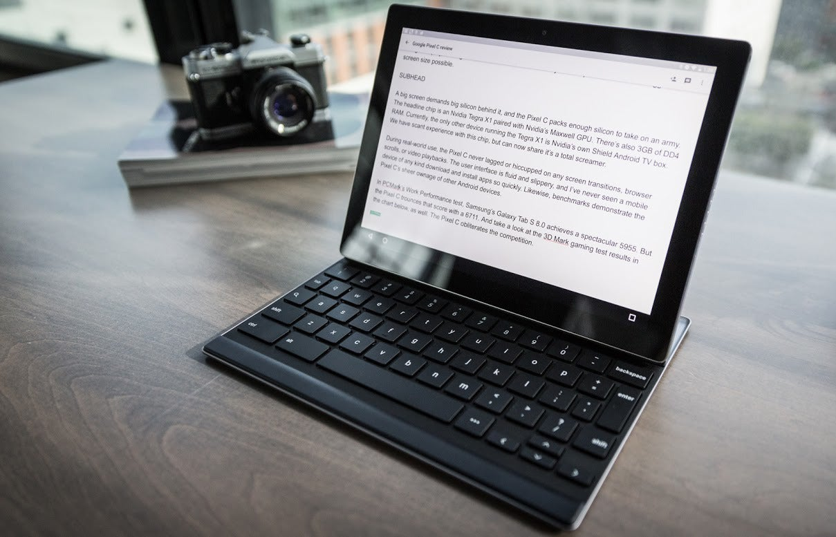 Google Pixel C review: A killer Android tablet with an ...