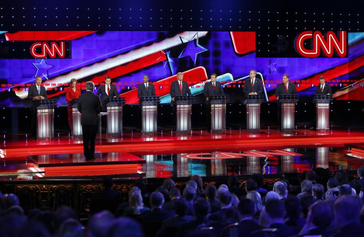 GOP presidential debate Dec 15