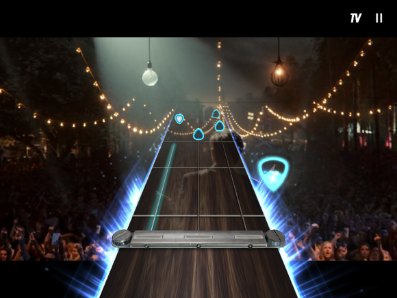 guitar hero live ipad