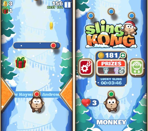holiday games 2015 slingkong
