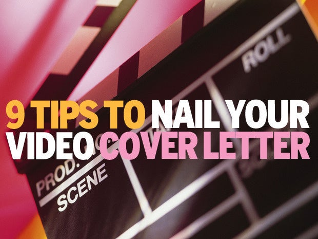 how to make video cover letters