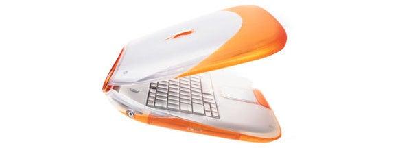 ibook tangerine