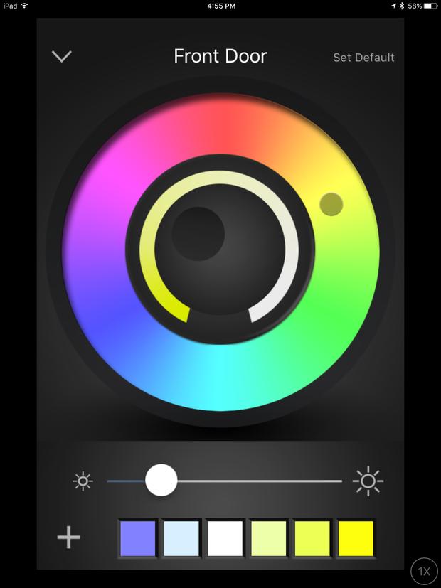 ilumi iOS app