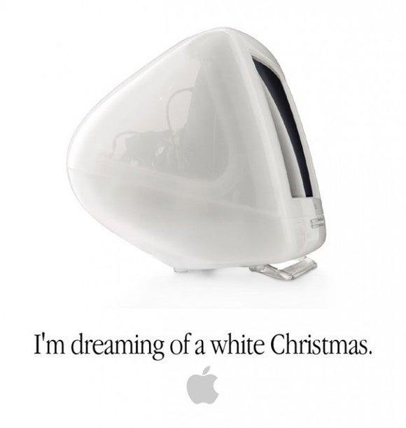 imac g3 snow ad