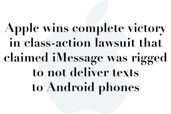 imessage lawsuit