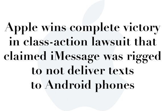imessage lawsuit