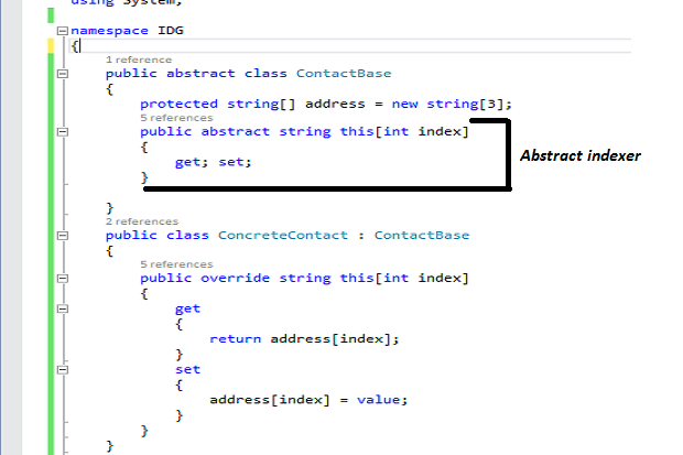 How to work with indexers in C# | InfoWorld