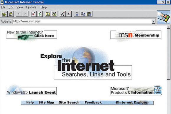 internet explorer tech that died