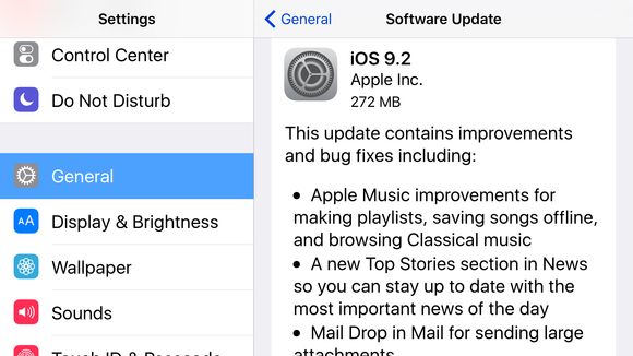 iOS 9 2 and watchOS 2 1 are available for download - Macworld UK