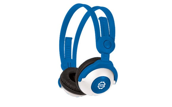 kidz gear bluetooth headphones blue