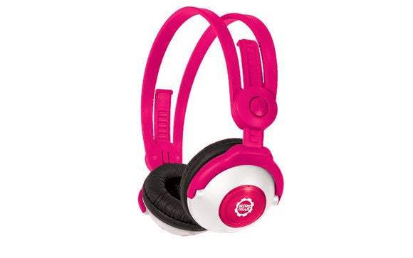 kidz gear bluetooth headphones pink