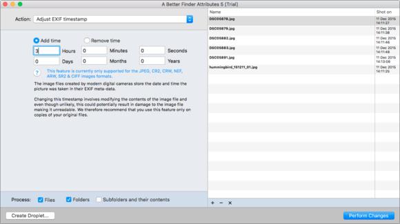 mac 911 better finder exif time offset images