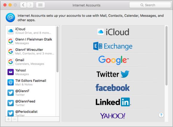mac 911 internet accounts pref pane