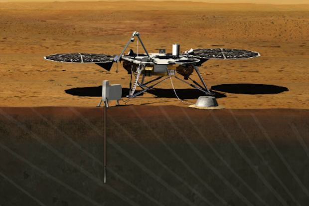 mars probe insight