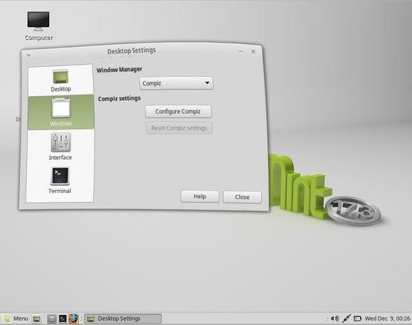 mate desktop wobbly window