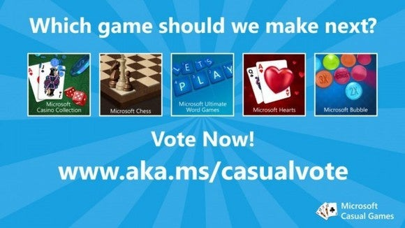 microsoft casual games vote