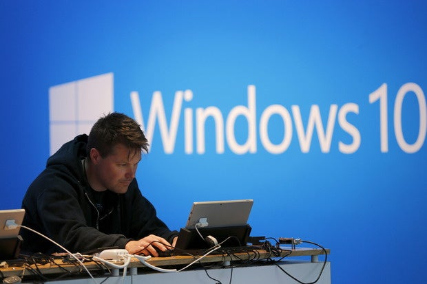 Why Windows 10? Microsoft stresses security