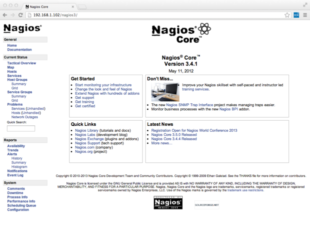 Network traffic control with Nagios