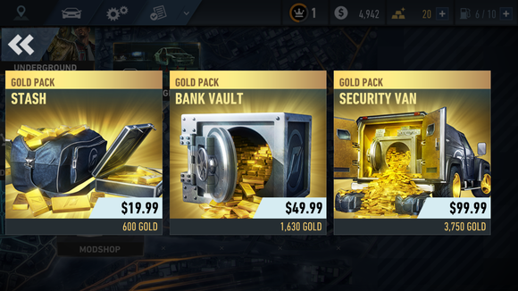 needforspeed goldpacks
