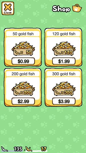 neko atsume gold