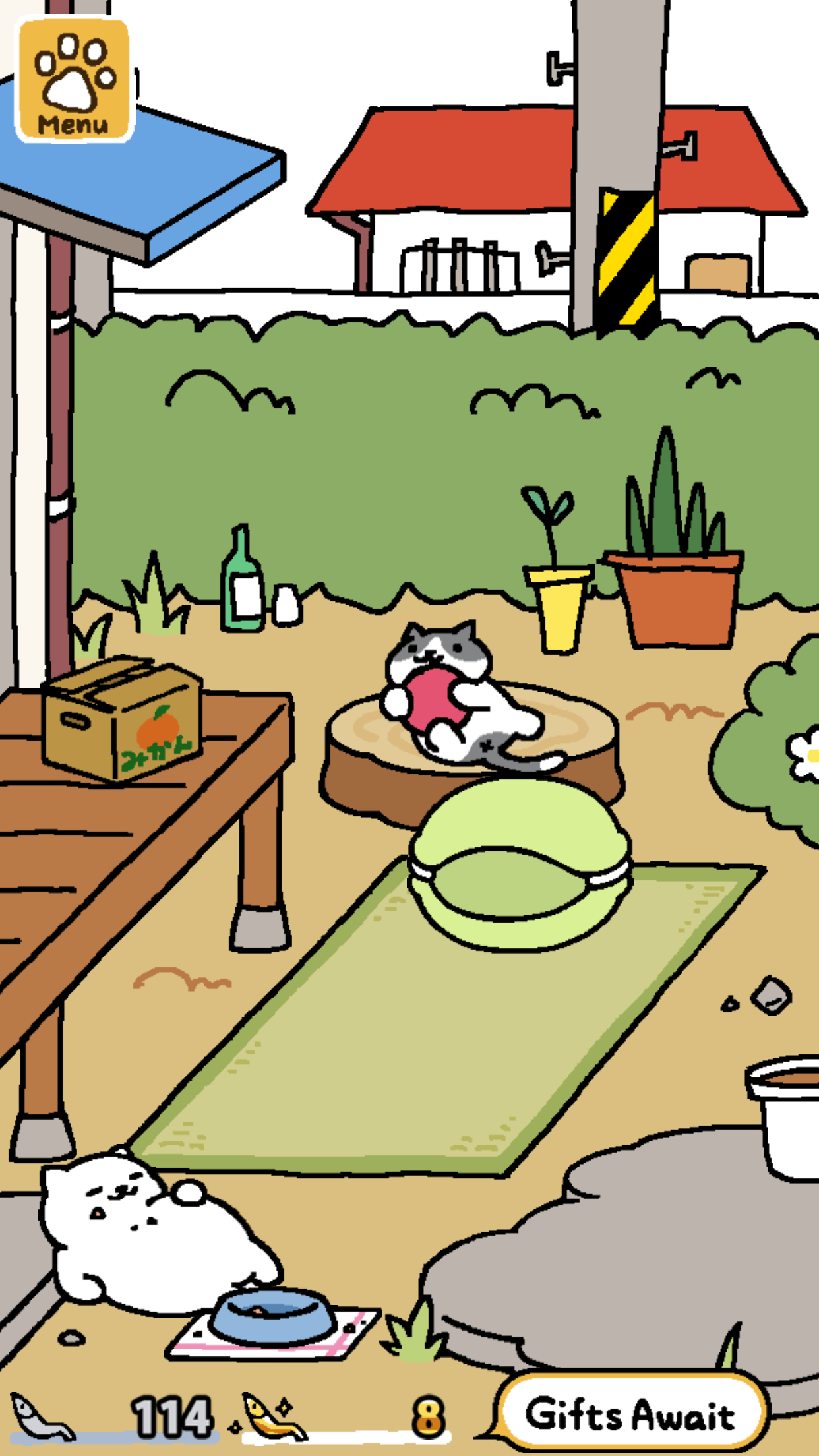 Japanese cat-luring sensation Neko Atsume is finally available in ...