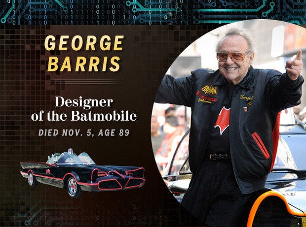 George Barris: Designer of the Batmobile (Died Nov. 5, age 89)
