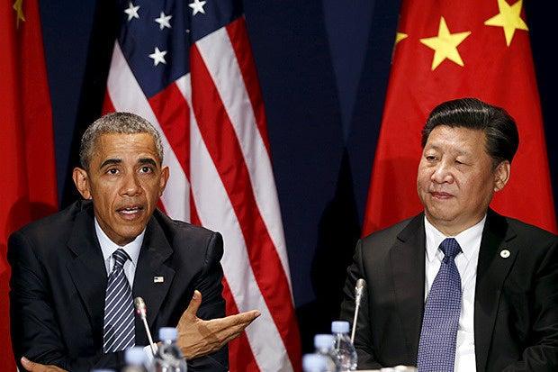 obama  jinping summit