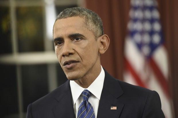 Obama in white house speech