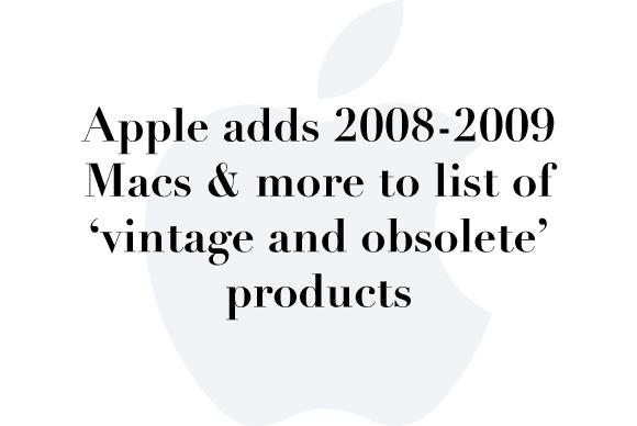 obsolete macs
