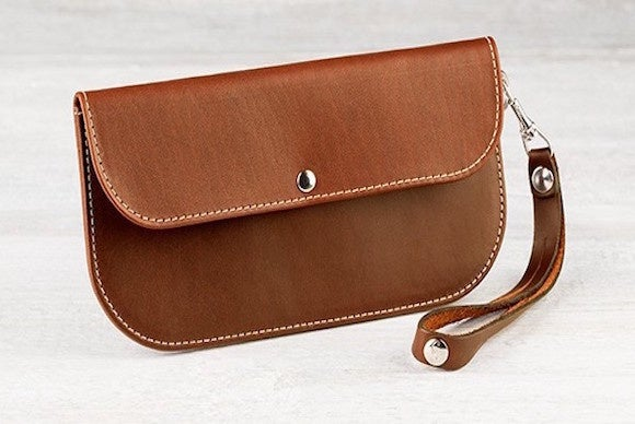 padandquill leatherclutch iphone