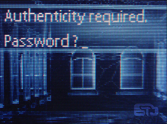 passwords authentication