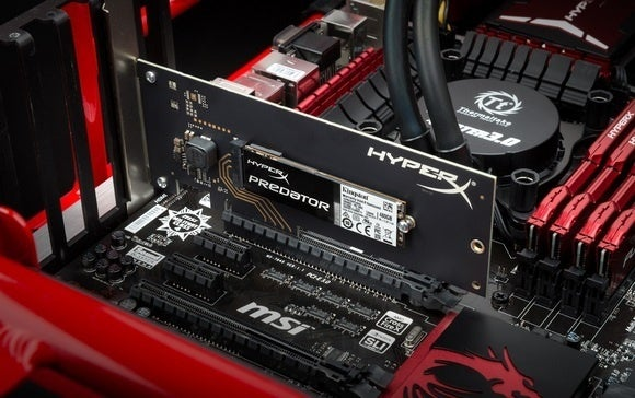 pcie ssd kingston hyperx