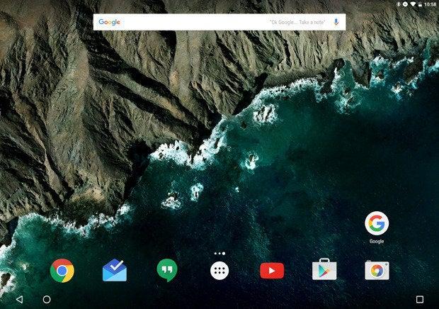 Pixel C Nav Buttons